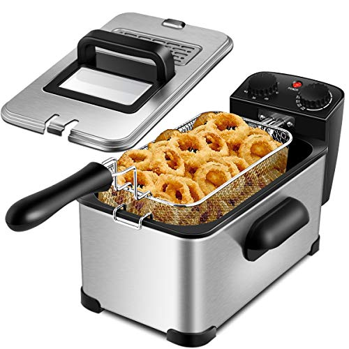 RELAX4LIFE 2000W Fritteuse 3L Topf,...