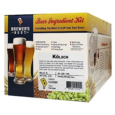 Home Brew Beer Ingredient Kit (5 gallon), (K?lsch)