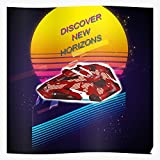 ARCHERS Stars SciFi Horizon Elite Dangerous Space Retro The Best and Style Home Decor Wall Art Print Poster with only Size 16x24 inch