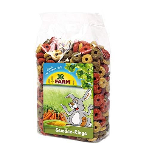 Jr Farm Anillos de verdura 200 gr. Comida para roedores