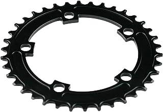 kaakaeu 130 mm BCD aleación de Aluminio Bicicleta Estrecha Ancho Cadena para FSA Mountain Bike Mantenimiento Pieza de Repuesto Accesorio