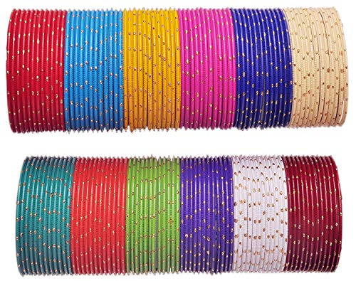 NMII Multicolour Metal Alloy with Golden Design Pattern Bang