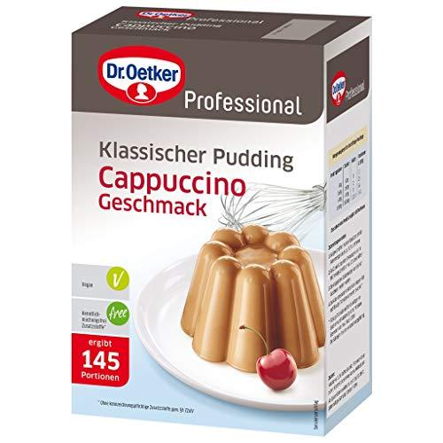 Dr. Oetker Professional Klassischer Pudding mit Cappuccino-Geschmack, Puddingpulver in 1 kg Packung