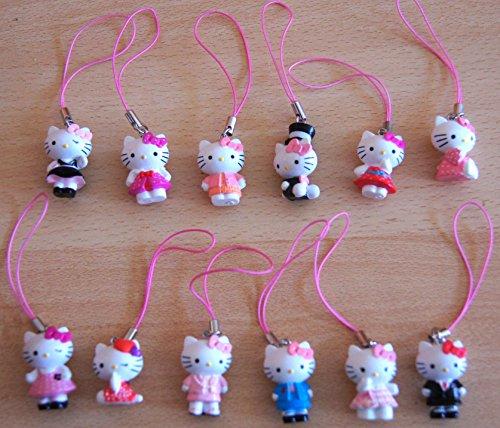 Hello Kitty 12 kleine Anhänger