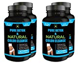 Pure Detox & Natural Colon Cleanse (pack of 4) { Milk Thistle extract