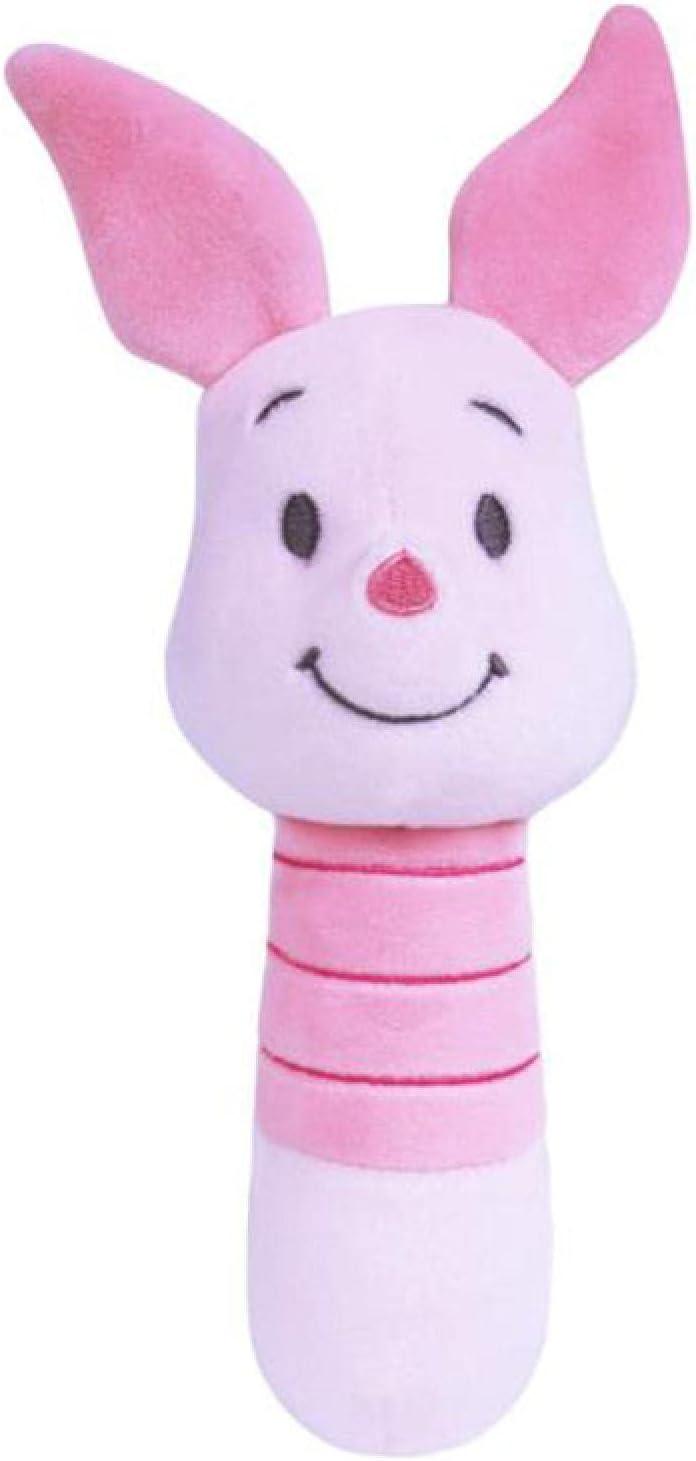 flyand Dibujos Animados Lindo Apaciguar Juguete De Felpa Winnie The Pooh Pigleta Muñeco De Peluche Suave Sonajero De Bebé Juguetes Cómodos Regalo De Cumpleaños 17Cm