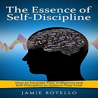 The Essence of Self-Discipline audiobook cover art
