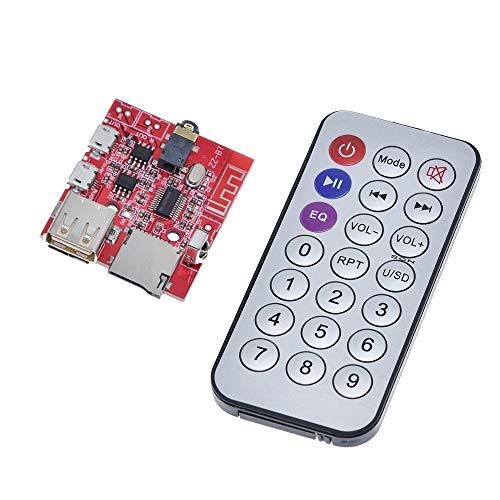 Compatibele Vervangings DC 3.7V naar 5V bluetooth 4.1 MP3 WAV Decoder raad 3W Speaker Versterker Audio Receiver Module Ondersteuning USB/TF/U-DISK/IR-afstandsbediening Accessory
