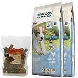 Bewi Dog 2 x 12,5 kg Puppy + 200 g Canius pulmones