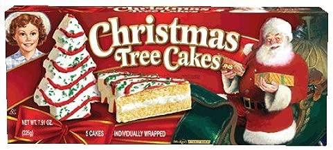 Little Debbie Vanilla Christmas Tree Cakes (2 Pack)
