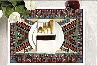 Southwestern Collection SALE!-Navajo-Exquisite DIY Adult Coloring Placemats -Set of Four