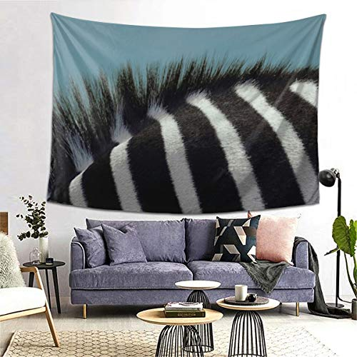 Deborah The Zebra Floor Pillow Art Tapestry Handicraft Party Garland Event Banner and Home Decoration Decoration Banner Skin-Friendly