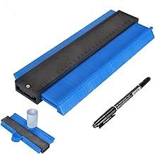 [Upgrade Version]Master Outline Gauge Contour Gauge Duplicator 10 Inch Shape Duplicator General Tools,Shaping Measure Ruler, Woodworking Shape Tracing Template, Super Smart Tools(Blue)