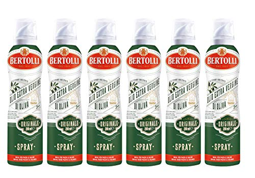Bertolli Originale Extra Vergine Olivenöl Spray Natives Olivenöl Extra 6 x 200ml
