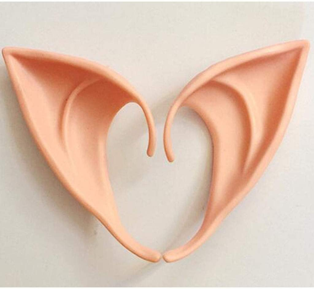 NUELLO Halloween Ear Elf Brand new free Props Decora Party Holiday Cosplay