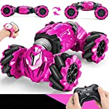 Remote Control Car, 2.4 GHZ Stunt RC Car Twisting Vehicle Drift Car RC Rock Crawler Driving Toy for Boys Kids
