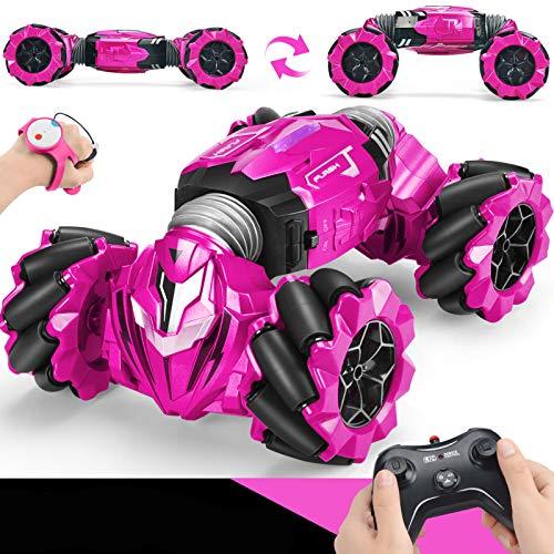 Remote Control Car, 2.4 GHZ Stunt RC Car Twisting Vehicle Drift Car RC Rock Crawler Driving Toy for Boys Kids