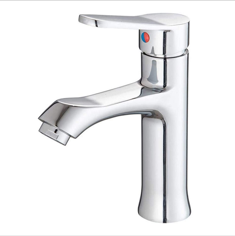 Copper Single Hole Single Hot and Cold Wash Basin Bathroom Counter Basin Faucet Z401