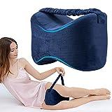 Almohadas para piernas con correa, Almohadas ortopédicas para dormir con de...