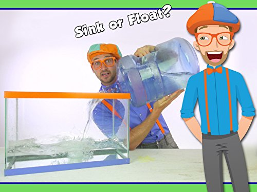 Blippi Sink or Float - Cool Science Experiment for Kids
