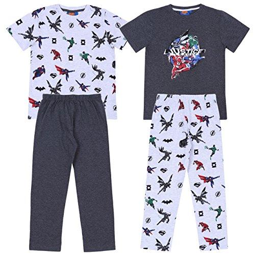 2 x Pijama Gris Liga de la Justicia -...