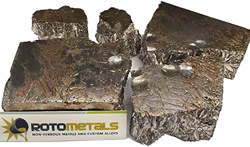 Box of Bismuth Chunks 99.99% about 8 Pounds Pure By Rotometals