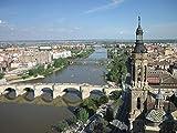 Puzzle 1000 Pezzi per Adulti Puzzle Basilica del Pilar Sul Fiume Ebro per Un Amico Regalo Di Compleanno per Bambini