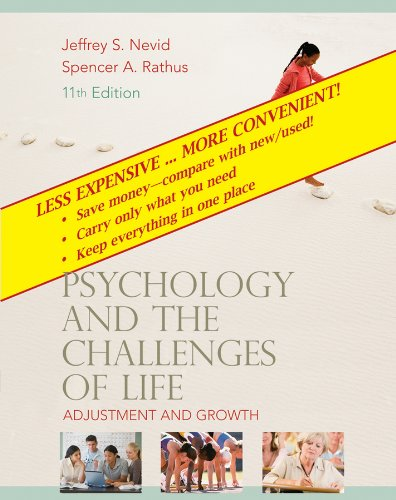 Psychology and the Challenges of Life: Adjustment to the New Millennium