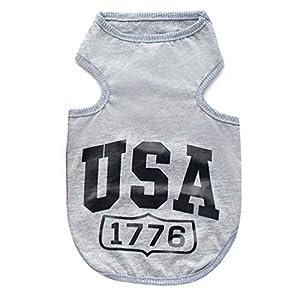 Smalllee _ Lucky _ Store États-Unis Jumper T-shirt Gilet cool pour petit chien chiot XS à XXL