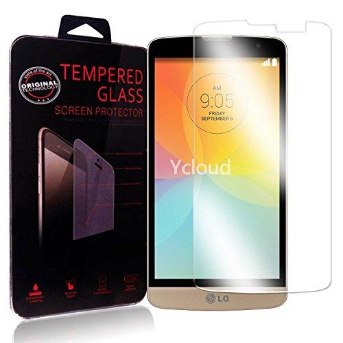 Ycloud Panzerglas Folie Schutzfolie Bildschirmschutzfolie für LG L Bello (5.0Zoll) screen protector mit Festigkeitgrad 9H, 0,26mm Ultra-Dünn, Abger&ete Kanten