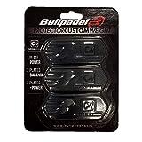 Bull padel Protector BULLPADEL Custom Weight 005 Pala, Adultos Unisex, Negro (Negro), Talla Única