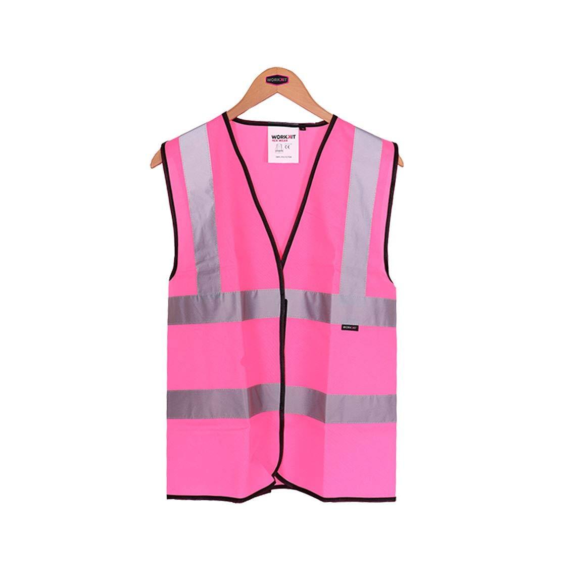 Womens Hi Vis Vest Pink