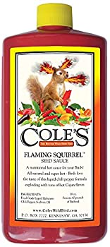 Cole s FS16 Flaming Squirrel Seed Sauce 16-Ounce