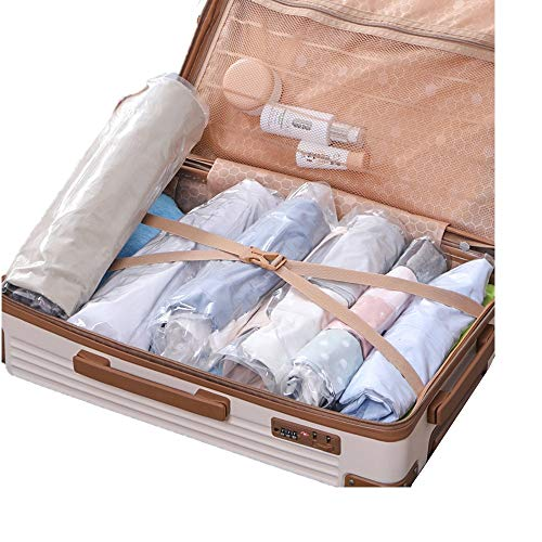 Organizadores de embalaje, 10pcs de viajes rollo de la mano bolsa de...