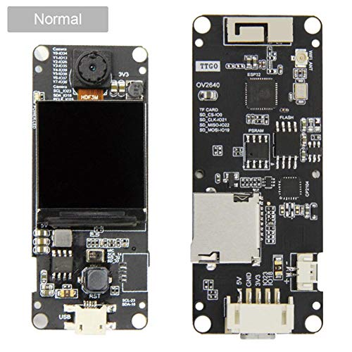Amazon.es - T-Camera Plus ESP32-DOWDQ6 8MB SPRAM Camera Module OV2640 1.3 Inch Display