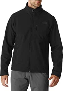 The North Face Men Apex Bionic Jacket - Black on Black Logo -Medium