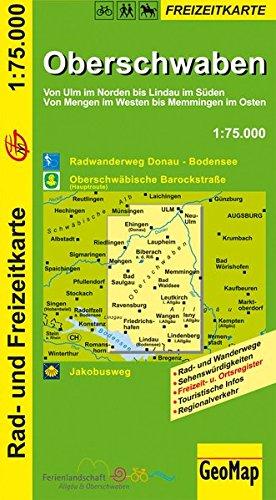GeoMap Karten, Oberschwaben
