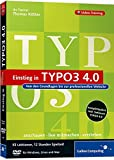 Einstieg in TYPO3 4.0 - Das Video-Training auf DVD