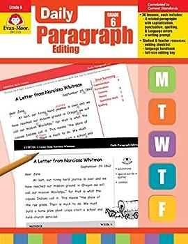 Evan-Moor Daily Paragraph Editing Grade 6