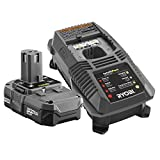 Ryobi P102-P118 18-Volt One Plus ZRP118 Dual Chemistry Battery Charger and 1 ZRP102 Lithium-Ion Battery (Renewed)