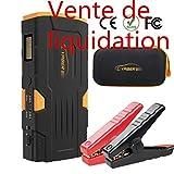 Jump Starter Portable, YABER 18000mAh 800A Booster Batterie Démarrage de Voiture Pour 12V Véhicule,