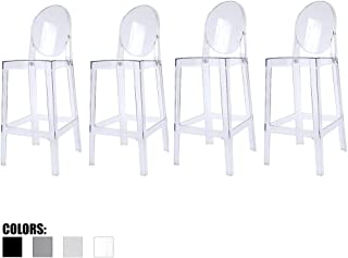 2xhome - Set of Four (4) - Clear - 30