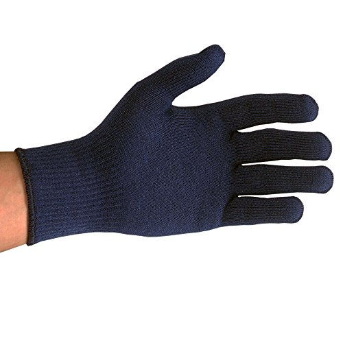 UltraSource Insulating Cold Weather Gloves with Knit Wrist, Blue (Pack of 12)