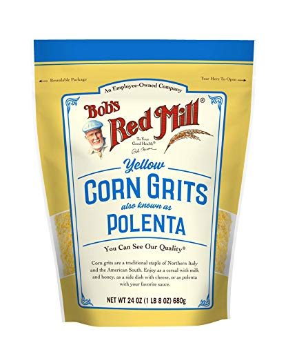 Bob's Red Mill Corn Grits, Polenta, 24 Ounce (Pack of 1)