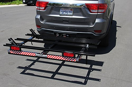Bend It Cycling Standard Easy Load Tray, A No Lift Rack Alternative for Recumbent Trikes