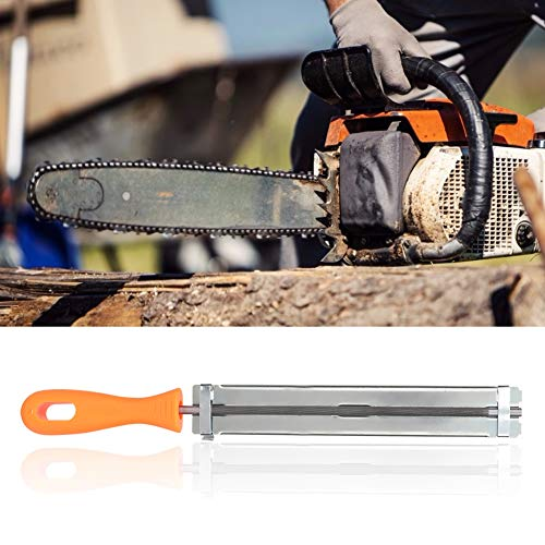 Mit Kunststoffgriff Haltbarkeit Kettensäge Schärfwerkzeug für die Gartenarbeit