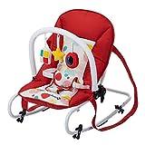 Safety 1st Koala - Hamaca bebé reclinable con Funcion mecedora y Arco de juego, Desde el nacimiento hasta los 6 meses (hasta 9 kg), Ligera, plegable y compacta, Color Isla Bonita