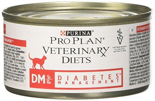 Purina PPVD Feline DM 24 BT Nourriture pour Chat 195 g