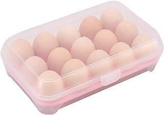 Chytaii Boîte à Oeufs Support d'Oeufs Boîte de Rangement Alimentaire en Plastique Organisateur Conservation pour Oeufs dan...