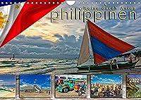 Reise durch Asien - Philippinen (Wandkalender 2022 DIN A4 quer): Die Philippinen, tropischer Staat in Suedostasien, im westlichen Pazifischen Ozean. (Monatskalender, 14 Seiten )